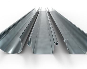 Cast Aluminium Gutters